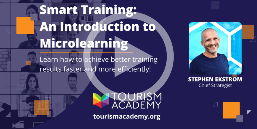 tourism course - microlearning